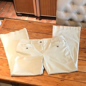 Ann Taylor Loft Size 12 Curvy Flare Size 12 pants